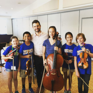 Greater Austin Suzuki Institute violin, cello and viola students