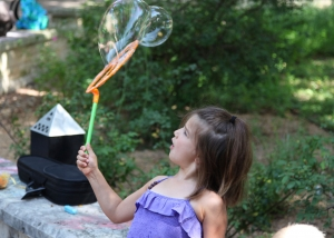 Playing with bubbles