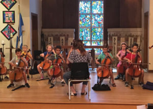 Austin Suzuki Institute Cello Performance